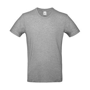 ΜΠΛΟΥΖΑΚΙ ΚΟΝΤΟΜΑΝΙΚΟ (t-shirt) B&C 100% ΒΑΜΒΑΚΕΡΟ ΓΚΡΙ